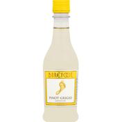 Barefoot Pinot Grigio White Wine 1 Single Serve Bottle
