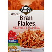 First Street Bran Flakes, Wheat
