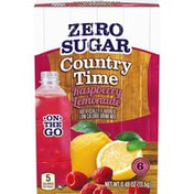 Country Time Raspberry Lemonade Artificially Flavored Powdered Drink Mix