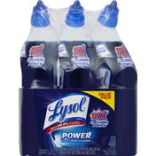Lysol Toilet Bowl Cleaner, Power, Value Pack