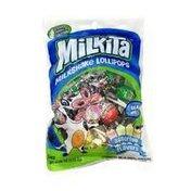 Milkita Milkshake Lollipops, Assorted