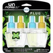 Febreze Unstopables Odor-Eliminating Plug Air Freshener, Paradise