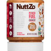 NuttZo 7 Nut & Seed Butter, Organic, Power Fuel, Crunchy