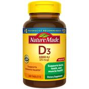 Nature Made Vitamin D3 1000 IU (25 mcg) Tablets
