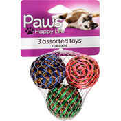 Paws Happy Life Assorted Toys, for Cats