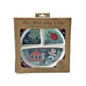 SugarBooger Ore Baby Ocean Divided Suction Plate