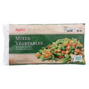 Hy-Vee Freshly Frozen Mixed Vegetables With Carrots, Corn, Peas, Green Beans & Lima Beans