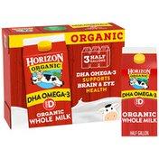 Horizon Organic Whole DHA Omega-Three Milk