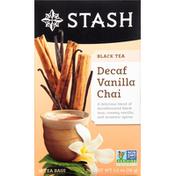 Stash Tea Black Tea, Vanilla Chai, Decaf, Tea Bags