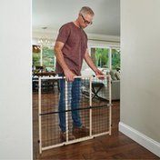You & Me You & Me Easy Fit Wooden Expandable Gate