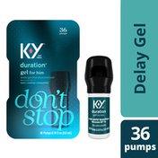 K-y® Duration Gel for Men, Male Genital Desensitizer Numbing Gel to Last Longer