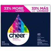 Cheer Ultra Fresh Clean Scent 40 Loads Powder Laundry Detergent