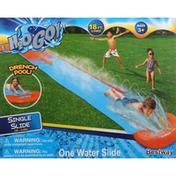 H2o Go! Slide, Single, 18 Feet