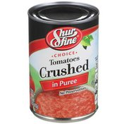 Shurfine Choice Crushed Tomatoes In Puree