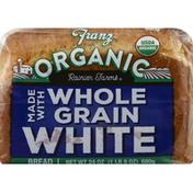 Franz Bread, White, Made with Whole Grain