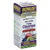 Purely Inspired 7-Day Cleanse, with Apple Cider Vinegar, Easy-to-Swallow, Veggie Capsules