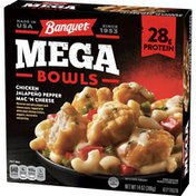 Banquet Mega Bowl Jalapeno Pepper Chicken Macaroni And Cheese