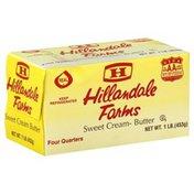 Hillandale Farms Butter, Sweet Cream