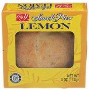 Big Y Lemon Snack Pies