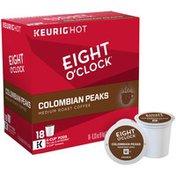 Eight O'Clock Coffee 100% Colombian K-Cup Packs Coffee