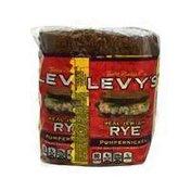 Levy's Real Jewish Rye Pumpernickel