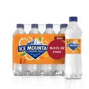 Ice mountain Sparkling Water, Orange