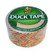 """Duck 1.88"""" x 10 Yards 3"""" Core Colored Zig Zag Duct Tape"""