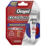 Orajel MoistureLock Cream Cold Sore Symptom Treatment