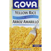 Goya Rice, Yellow, Low Sodium