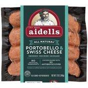 Aidells Portobello Mushroom Smoked Chicken Sausage