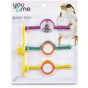 You & Me Medium Spinning Bird Perch Ladder Toy