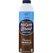 High Brew Cold Brew Coffee Mexican Vanilla