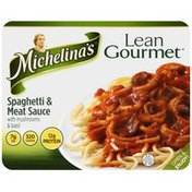 Michelina's with Mushrooms & Basil Spaghetti & Meat Sauce