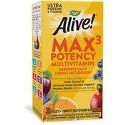 Nature's Way Alive! Max3 Potency Multivitamin
