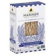Mariner Crackers, Flatbread, Organic, Sea Salt Multigrain