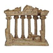 Imagitarium Resin Greek Temple Aquarium Decor