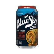 Blue Sky Root Beer Soda Soft Drink