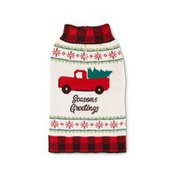 Large Holiday Truck Sweater