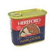 Hereford Luncheon Meat
