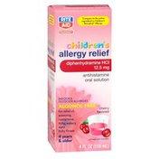Rite Aid Pharmacy Allergy Medication, Children's, Cherry Flavor