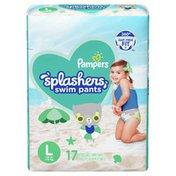 Pampers Splashers Swim Diapers Size L
