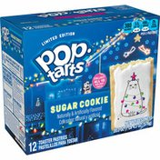 Kellogg's Pop-Tarts Toaster Pastries, Breakfast Foods, Baked in the USA, Frosted Sugar Cookie