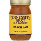 Tennessee's Best Peach Jam, Old Fashion, Jar
