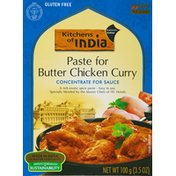 Kitchens of India Curry Paste, Butter Chicken, Medium