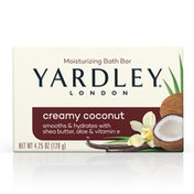 Yardley London Creamy Coconut Moisturizing Bath Bar