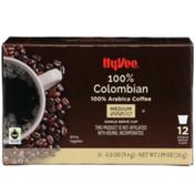 Hy-Vee Medium Roast 100% Colombian Arabica Coffee Single Serve Cups