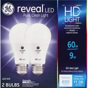 GE Light Bulbs, LED, 9 Watts