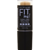 Maybelline New York Fit Me! Shine-Free + Balance Foundation 220 Natural Beige