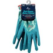 Digz Garden Gloves, Full Finger, Latex Coated, Medium