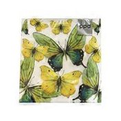Paperproducts Design Butterfly Lunch Paper Napkins